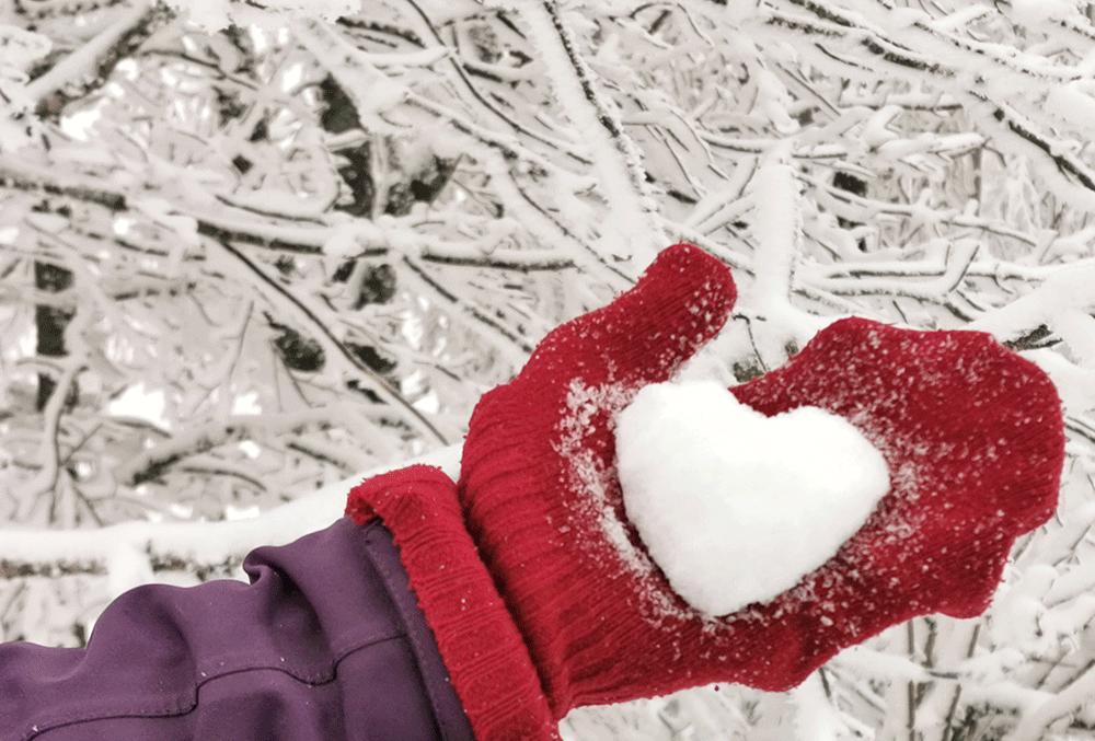 Handschuh aus altem Pullover